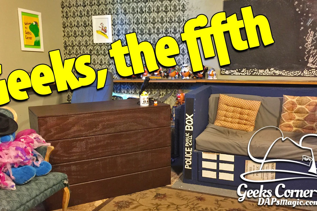 Geeks, The Fifth – Geeks Corner – Episode 501