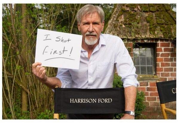 I Shot First - Han Solo - Harrison Ford