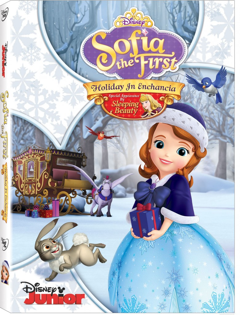 sofia the first holiday in enchancia on dvd 11 4 daps magic. Black Bedroom Furniture Sets. Home Design Ideas