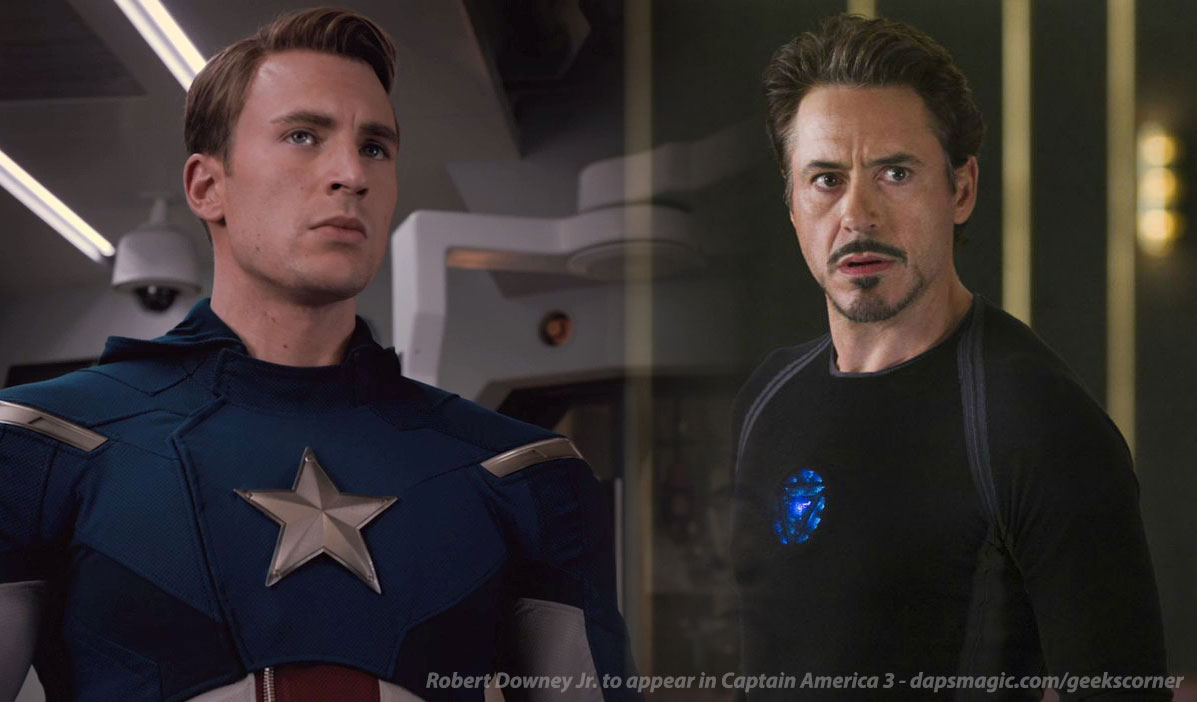 Robert Downey Jr. to appear in Captain America 3