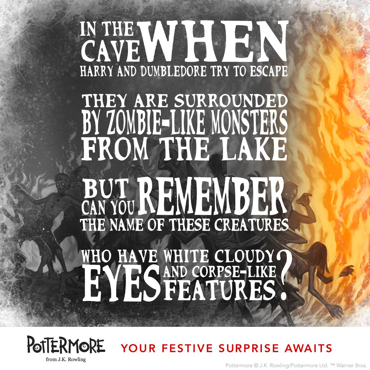 Day 10 of J.K. Rowling's Twelve Days of Christmas Harry Potter Moments