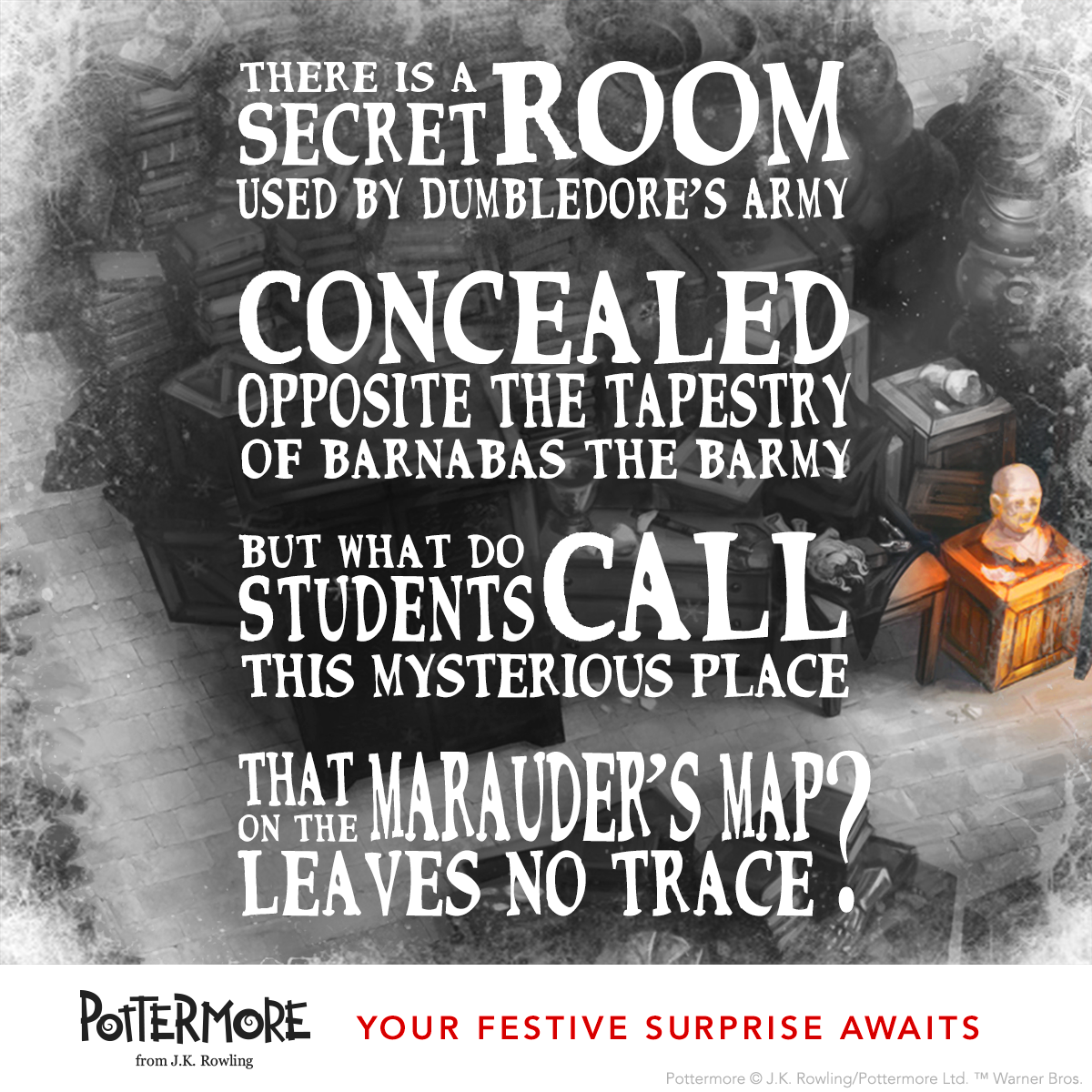 Day 9 of J.K. Rowling's Twelve Days of Christmas Harry Potter Moments