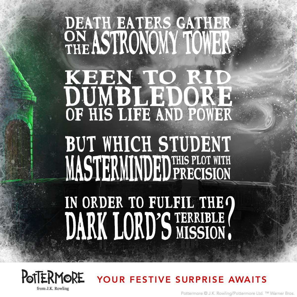 Day 11 of J.K. Rowling's Twelve Days of Christmas Harry Potter Moments