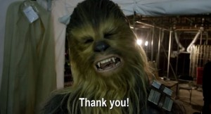 Star Wars: Force for Change - Chewbacca Says Thank You!