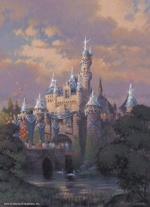 Sleeping Beauty Castle - Disneyland Diamond Celebration - Artist's Rendering