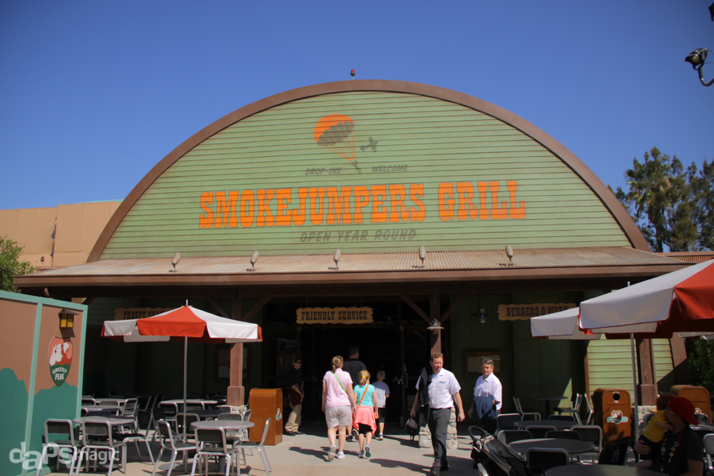 Smokejumpers Grill - Grizzly Peak Airfield - Disney California Adventure-1