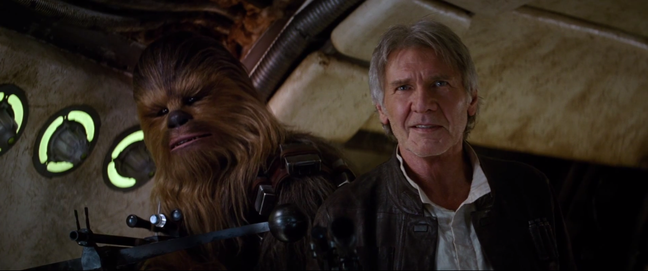 Han Solo and Chewie - Star Wars: The Force Awakens Teaser #2
