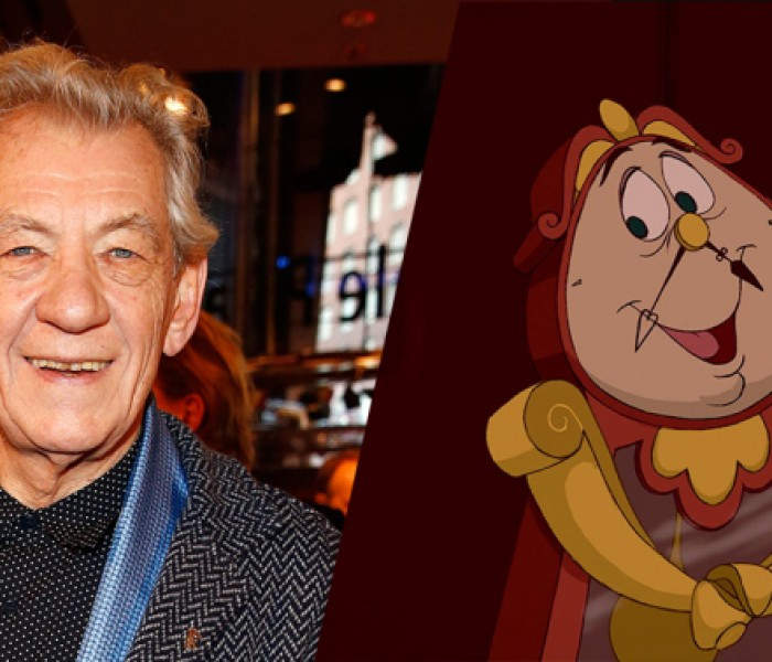 Ian McKellen Cast as Cogsworth in Disney's Live Action 'Beauty and the Beast'