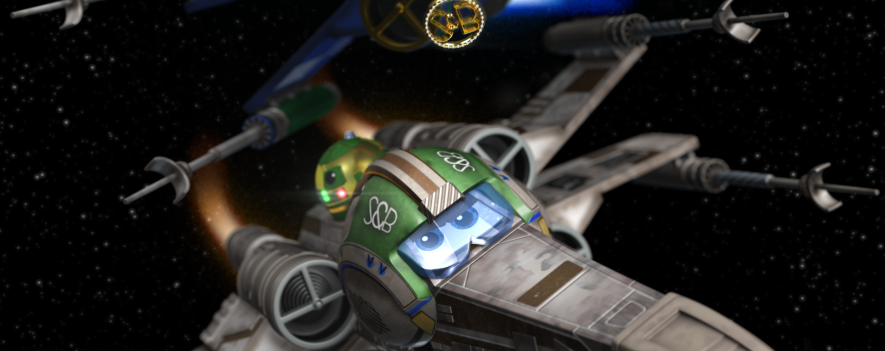 What if Disney-Pixar did Star Wars? Fan Made Disney-Pixar's X-Wings Answers This Question.