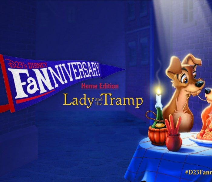 D23 to Feature First In Home Fanniversary Event Celebrating Lady and the Tramp