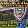 How to Survive Disneyland Resort's 24-Hour Event