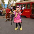 Minnie Joins Mickey and the Red Car Trolley News Boys