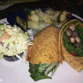 Disneyland Resort's Rainforest Café Serves Up Vegetarian Portabella Wrap