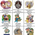 List of Disney Parks Pins to be Released in June