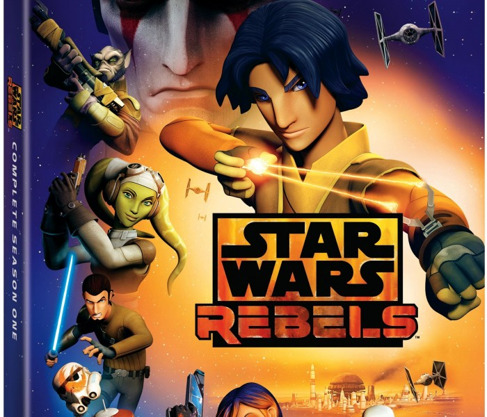 Season One of Star Wars Rebels Out on Blu-ray 9/1