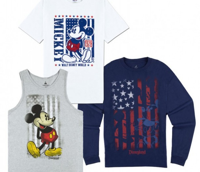 Patriotic Merchandise Now Available in Disney Parks