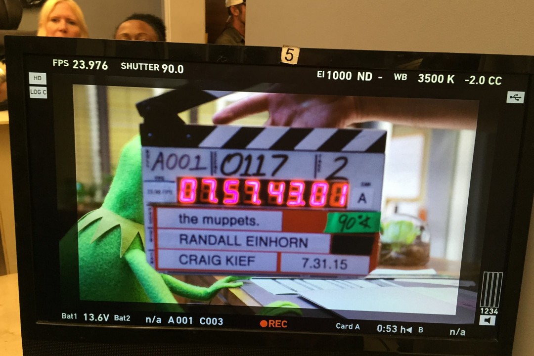 The Muppets Begin First Day of Shooting on New TV Show