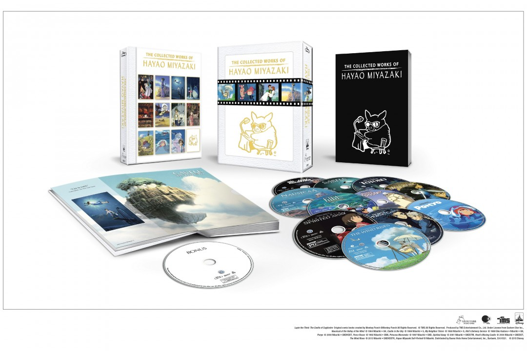 Disney to Release 'The Collected Works Of Hayao Miyazaki' 11/17