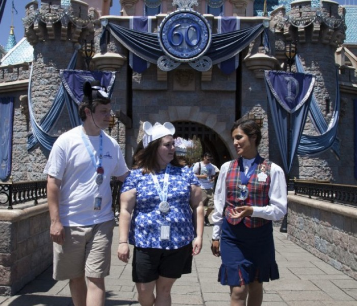 Couple from South Carolina Win Disneyland Diamond Days Prize on the 60th Anniversary