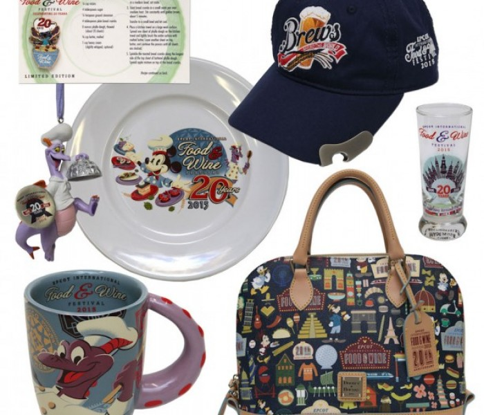 Exciting Merchandise Heading to Epcot's International Food and Wine Festival