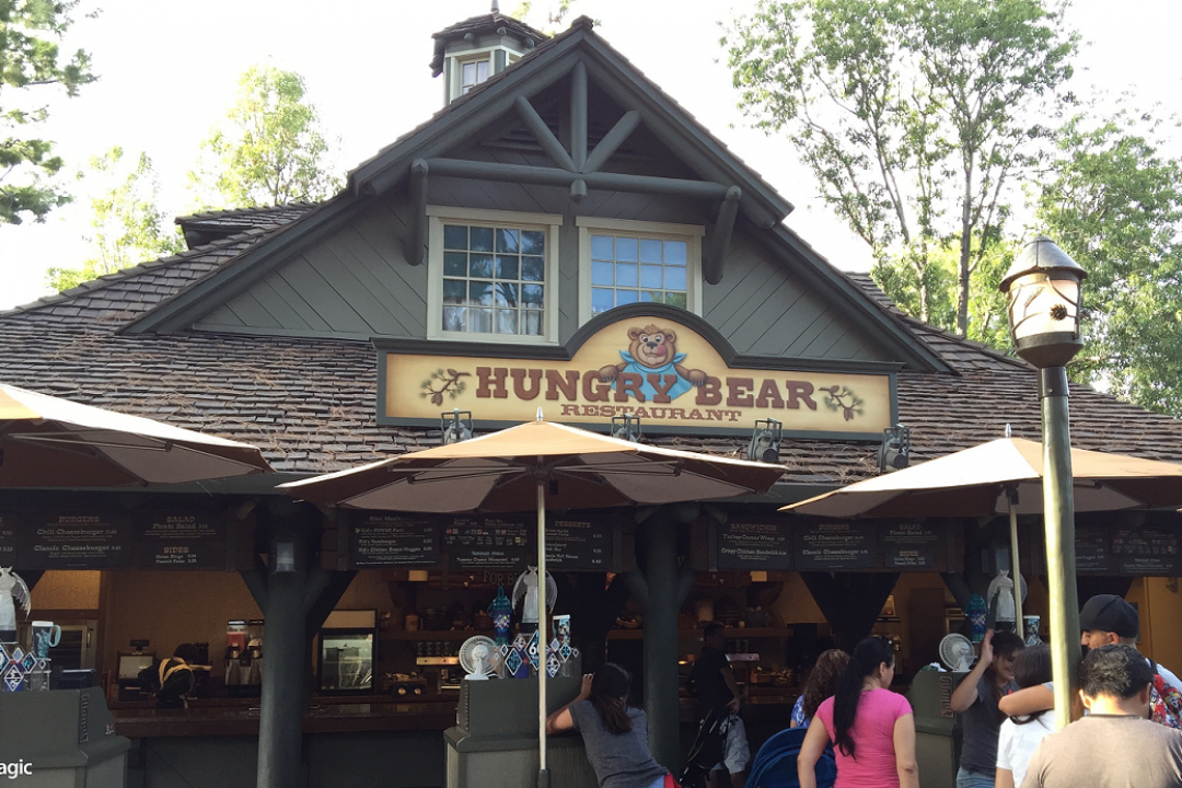 Disneyland Resort Changes Up Hungry Bear Restaurant Menu