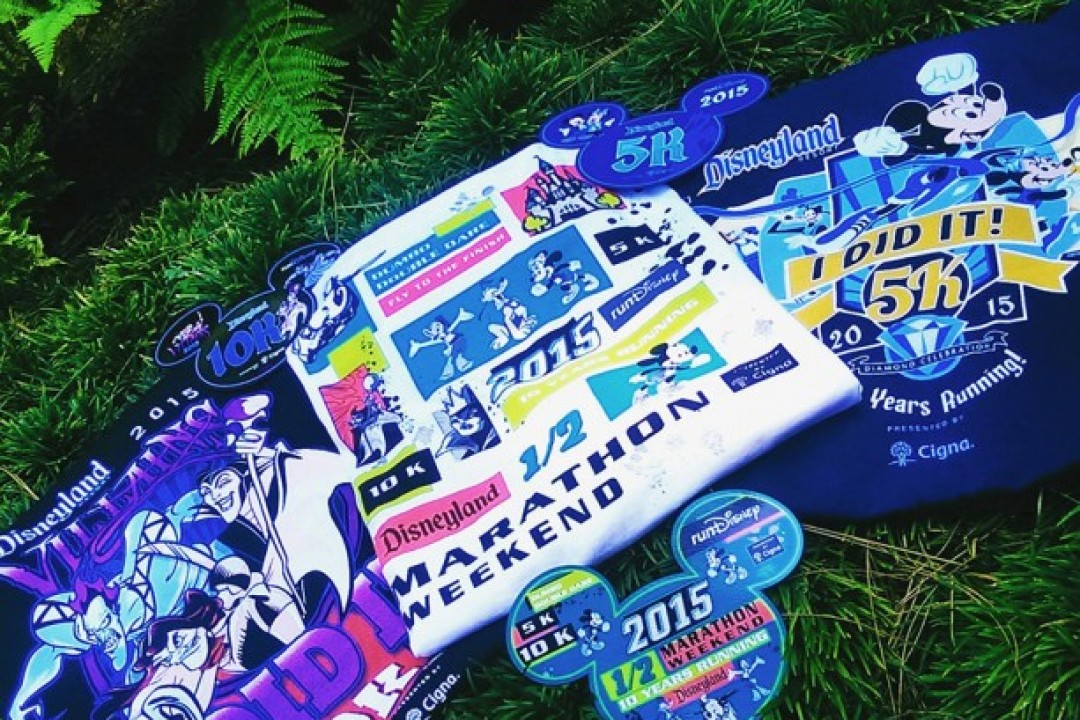 2015 Disneyland Half Marathon Weekend Merchandise
