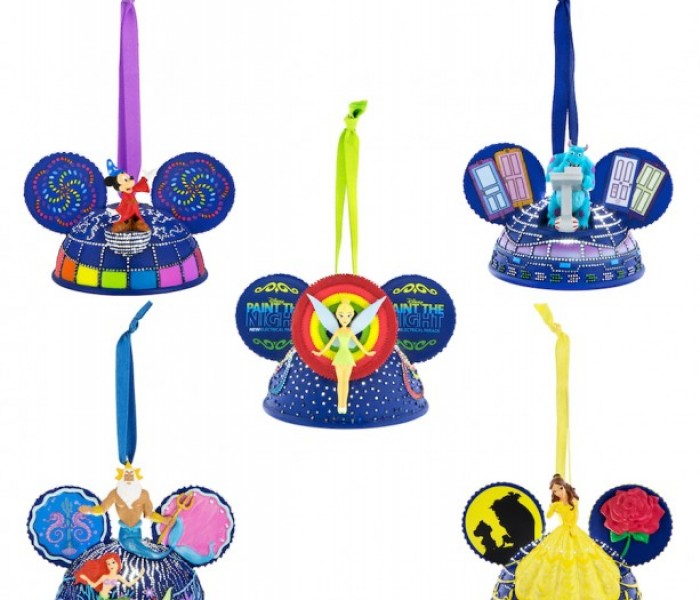 'Paint the Night' Parade Holiday Ornaments to Arrive at the Disneyland Resort