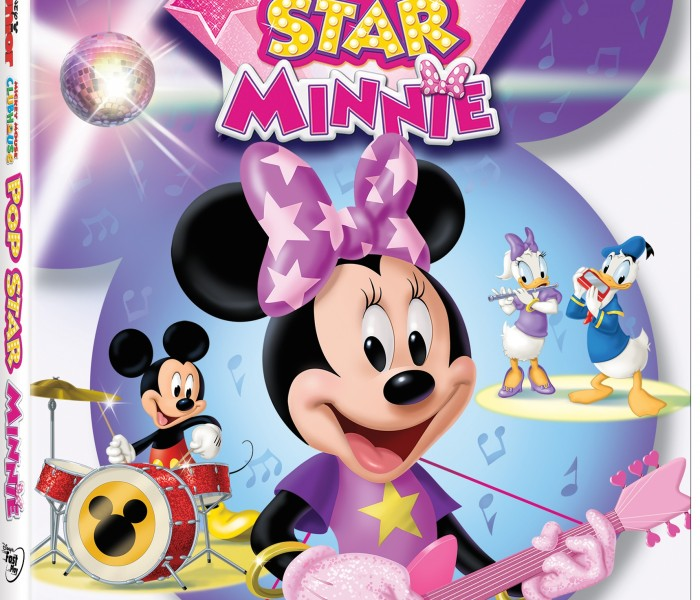 Disney Junior's 'Mickey Mouse Clubhouse: Pop Star Minnie' Now Available on DVD