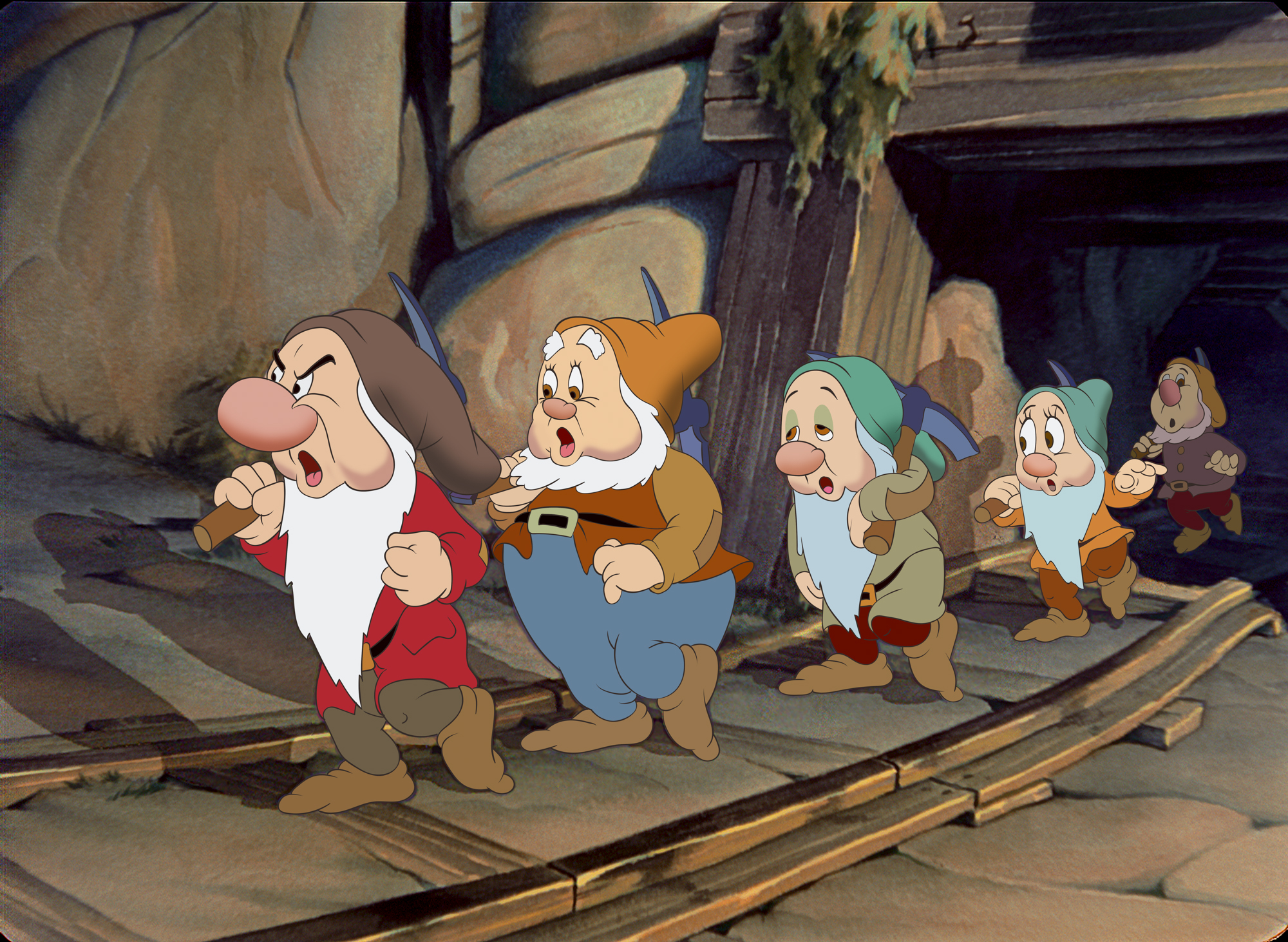 Pictures of snow white and seven dwarfs Cached