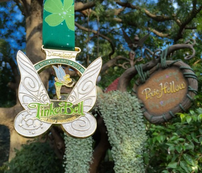 A Look at Upcoming Tinkberbell Half Marathon Weekend Finisher Medals