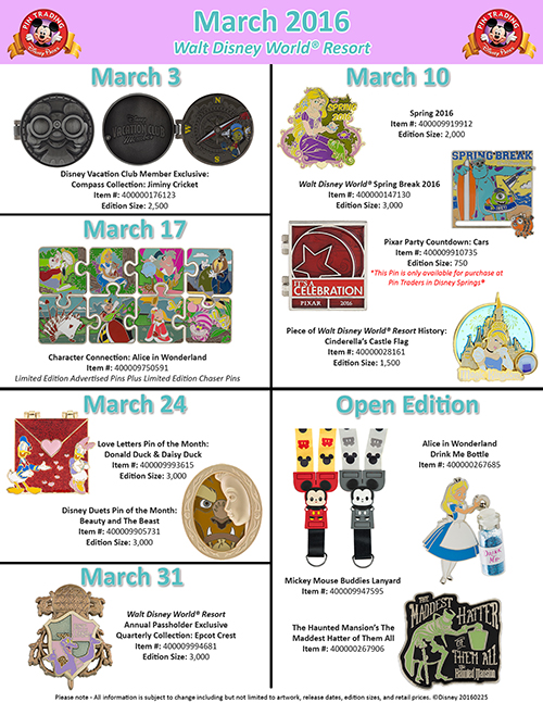 Disney Parks Pins_March (3)