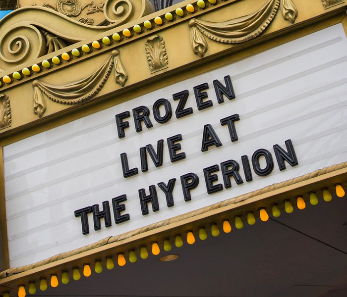 Disney California Adventure Park's 'Frozen – Live at the Hyperion' Sets the Stage
