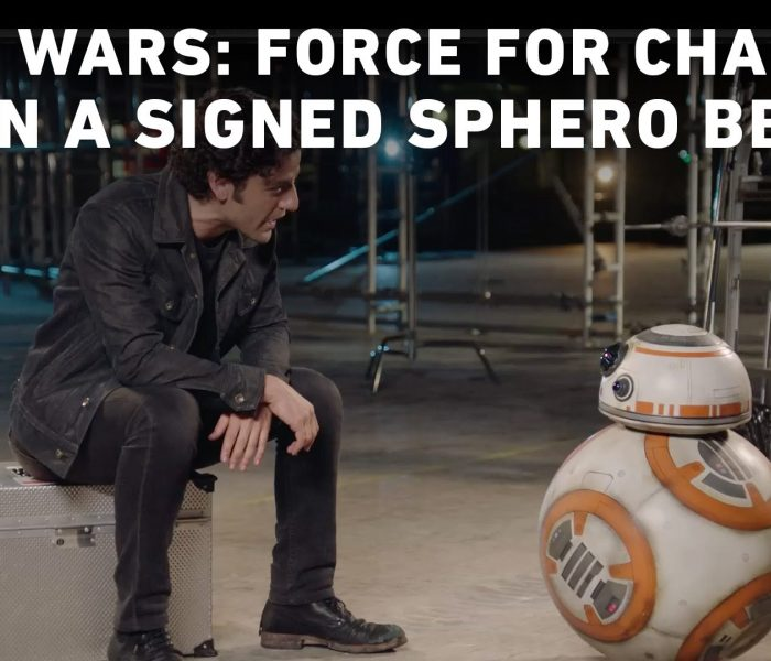 Oscar Isaac & BB-8 Share News on the Ongoing 'Star Wars: Force for Change' Campaign