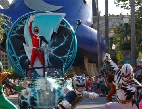 The Power Rangers Disney Connection – DAPs From the Past