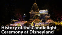 The History of the Candlelight Ceremony at Disneyland