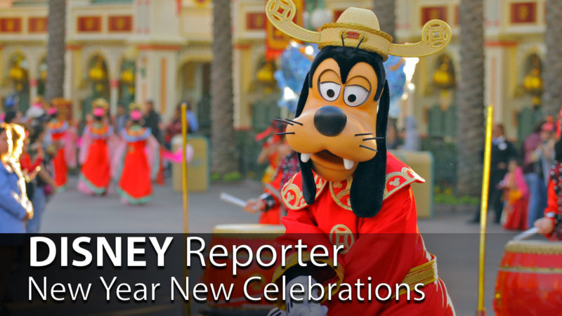 New Year New Celebrations - DISNEY Reporter
