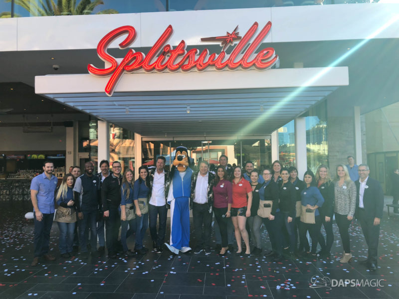 Goofy Learns to Bowl as Splitsville Luxury Lanes Official Opens at the Disneyland Resort