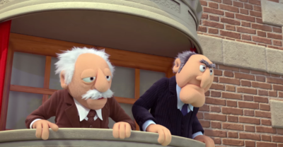 Statler and Waldorf - Muppet Babies
