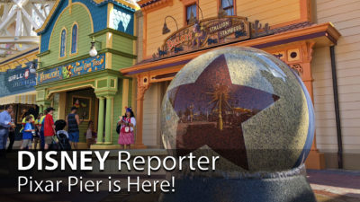 Pixar Pier is Here! - DISNEY Reporter
