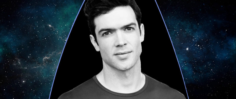 Ethan Peck Cast as Spock in Star Trek: Discovery - Photo from StarTrek.Com