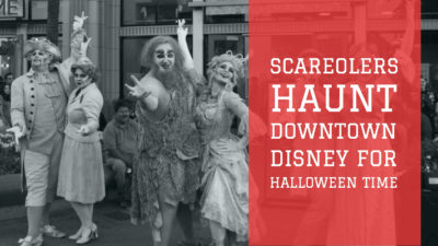 SCAREolers Haunt Downtown Disney