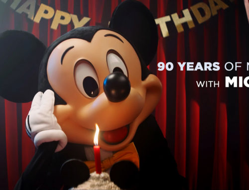 See the Magic of Mickey Mouse's Last 90 Years Come to Life in a Clip From Disneyland Paris