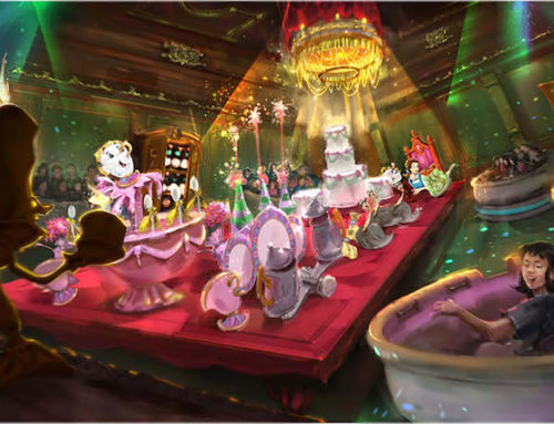 Disney Releases New Video and Details Surrounding Beauty and the Beast Attraction at Tokyo Disneyland
