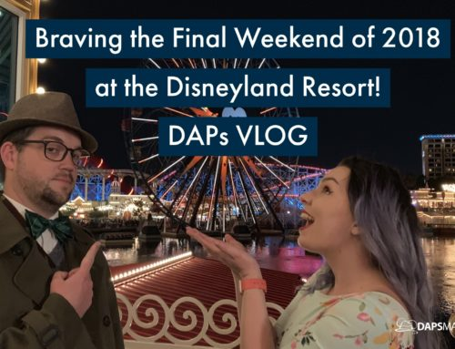 Braving the Last Weekend of 2018 at the Disneyland Resort – DAPs Vlog