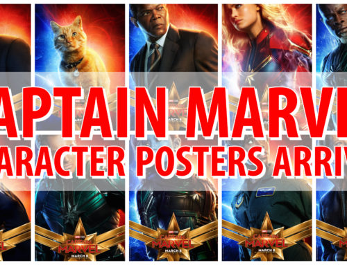 Check Out New Captain Marvel Character Posters Ahead of Arriving in Theaters in March