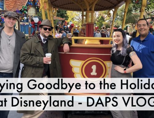 Saying Goodbye to the Holidays at Disneyland Resort – DAPs Vlog