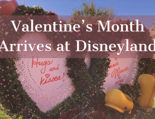 Disneyland Feels the Love Ahead of Valentine's Day for Valentine's Month