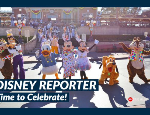 Time to Celebrate! – DISNEY Reporter
