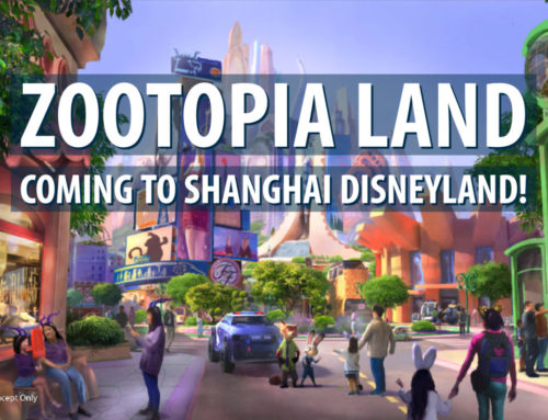 New Themed Expansion Based on Disney's Zootopia Coming to the Shanghai Disney Resort!