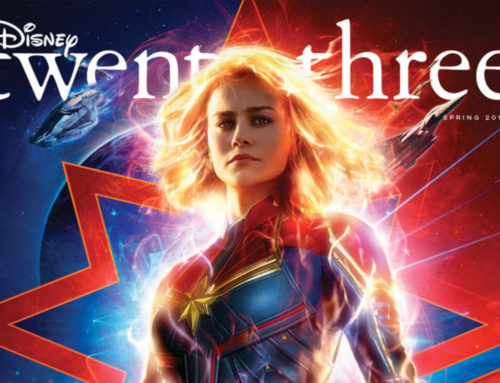 New D23 Disney Twenty-Three Magazine Cover Features Captain Marvel